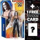 Sting: WWE Basic Series #55 + 1 FREE Official WWE Trading Card Bundle