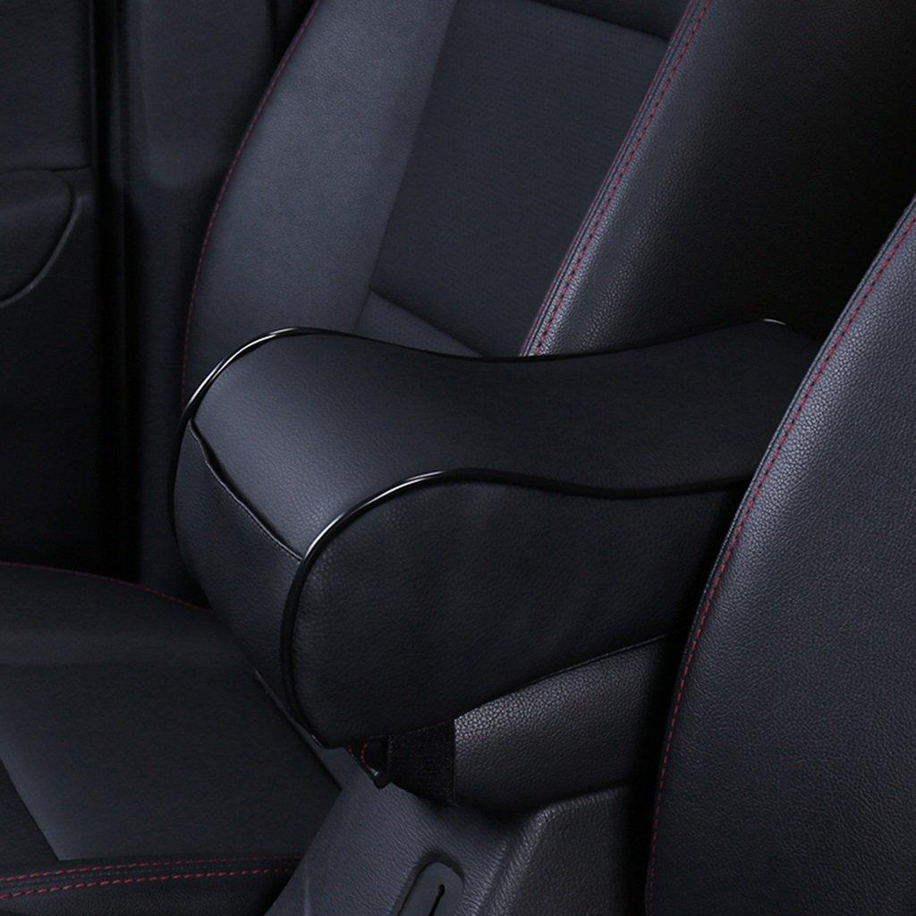 Home mall- Aumento Pad Per corrimano dell'automobile del cotone di memoria nella scatola di controllo Pad bracciolo dell'automobile Cuscino Accessori per automobili ( Colore : Beige )