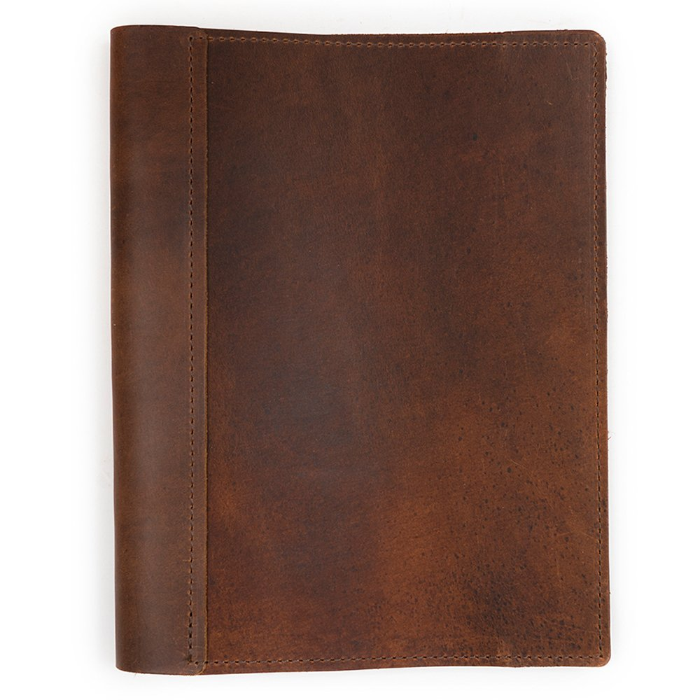 Rustico Refillable Sketchbook Large Saddle,8.5-x-11-Inch