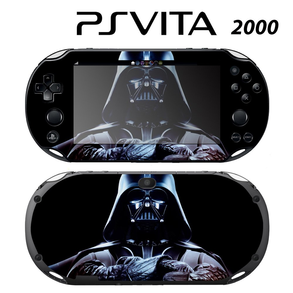 Decorative Video Game Skin Decal Cover Sticker for Sony PlayStation PS Vita Slim (PCH-2000) - Star Wars Darth Vader
