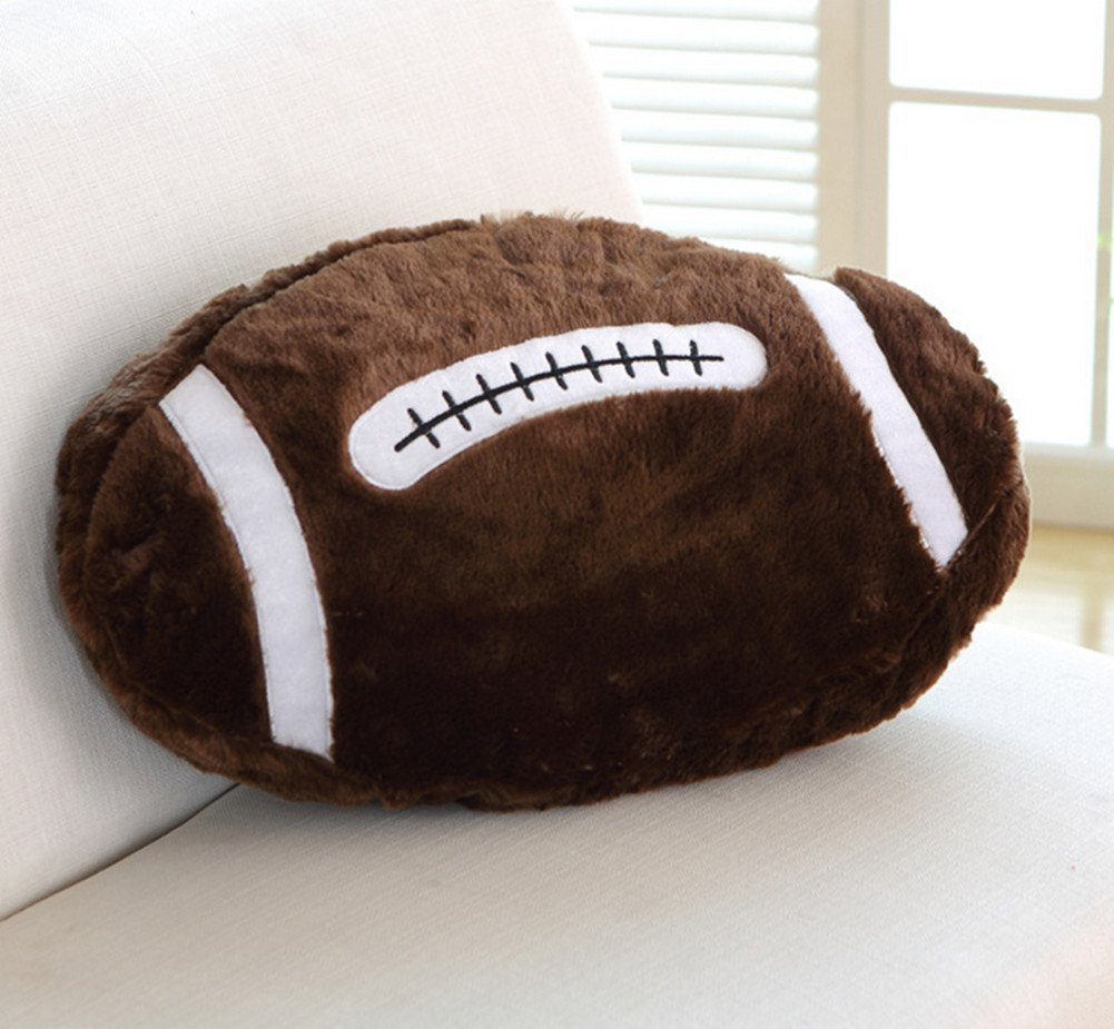Skyseen Plush Football Throw Pillow/Cushion 17.7