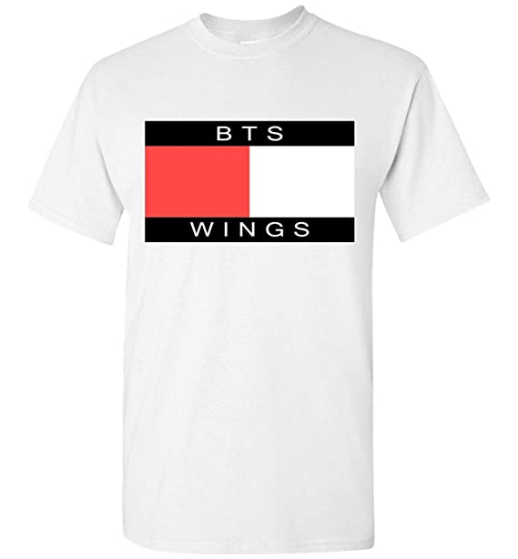 Hombre The Incredible BTS Fashion BTS Wings Camiseta/T Shirts RM Jin Suga J-Hope Jimin V Jungkook: Amazon.es: Ropa y accesorios