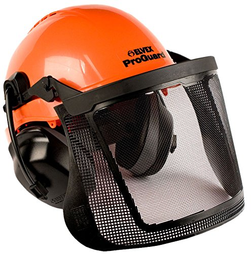 Elvex CU60RV ProGuard 6 Point Ratchet Suspension Vented Helmet System