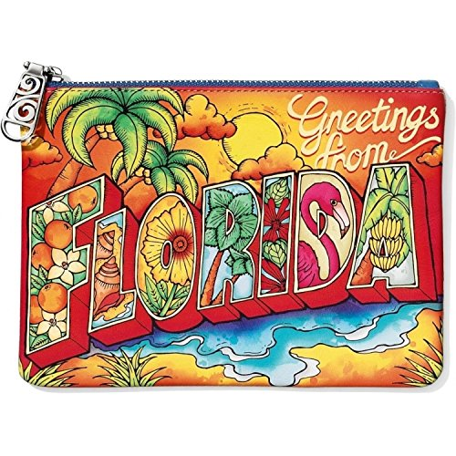 Brighton First Class Collection Florida Leather Travel Pouch