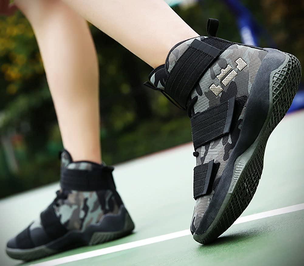 No.66 TOWN Couple Mens Womens High Top Running Shoes Fashion Sneaker,Basketball Shoes