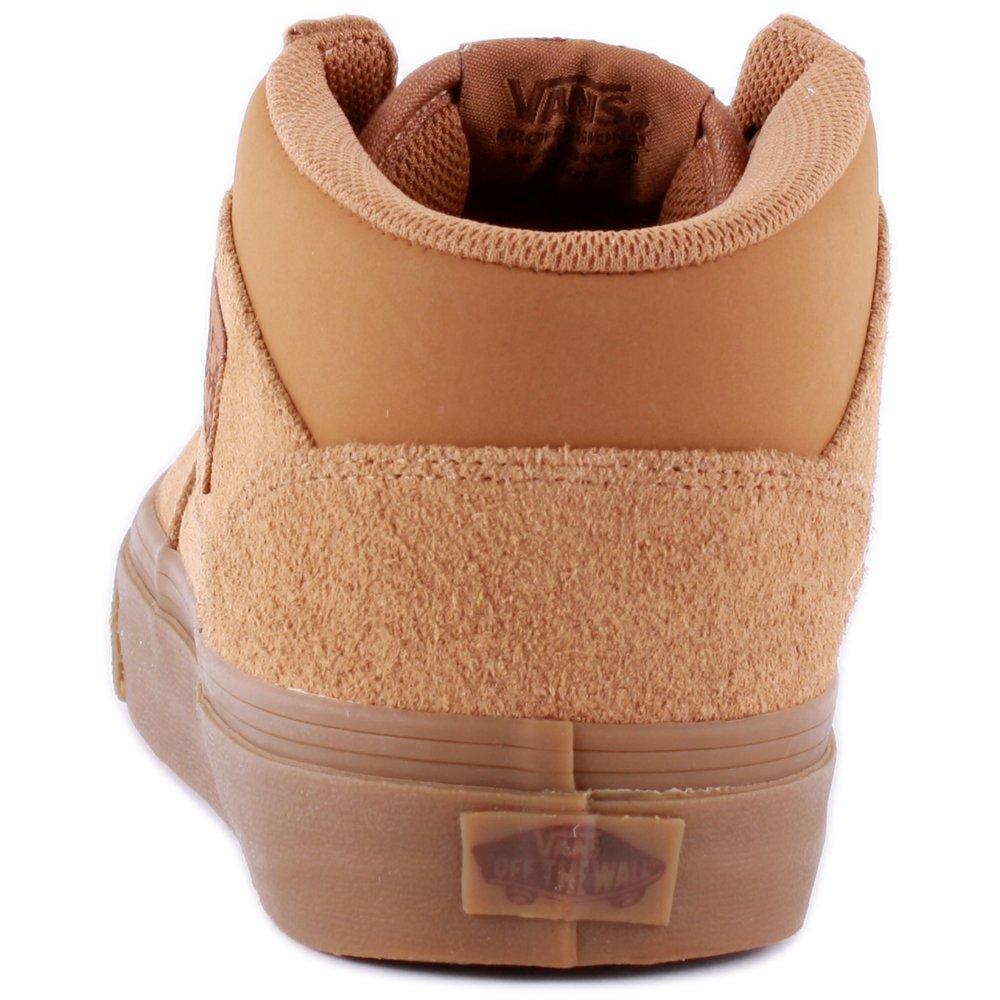 a670a5e1c8 Vans Half Cab Suede Buck Tobacco Brown Skate Shoes UK 6  Amazon.co.uk  Shoes    Bags