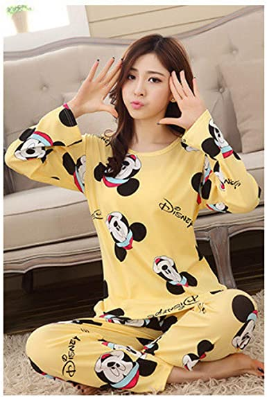 Conjunto de Pijamas para Mujer Inicio Ropa Abrigos Pijamas de ...