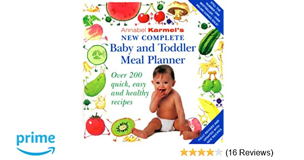 amazon com annabel karmel s new complete baby toddler meal
