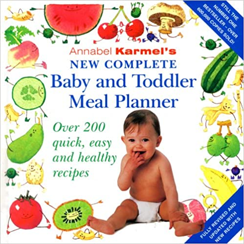 Book Annabel Karmel's New Complete Baby and Toddler Meal Planner - 4th Edition