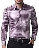PAUL JONES Mens Plaid Casual Dress Cotton Shirts CL6299