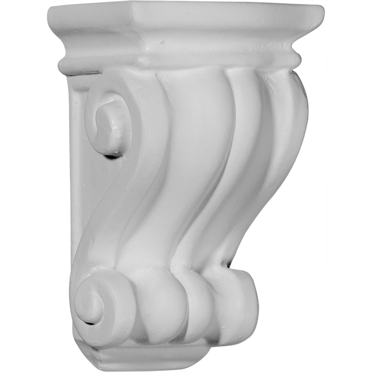 Ekena Millwork COR03X03X06CO-CASE-4 Corbel Factory Primed and Ready for Paint