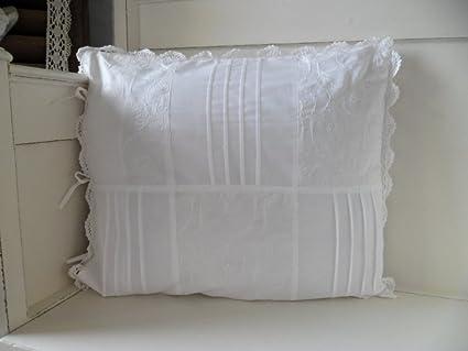Cojín con relleno blanco 50 x 60 cm Funda de almohada Funda ...