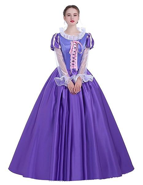 Amazon.com: COSKING - Disfraz de princesa Rapunzel para ...