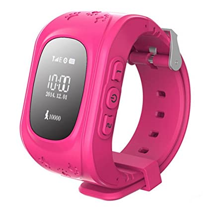Amazon.com: glzee Real Kids SmartWatch rastreador de GPS ...
