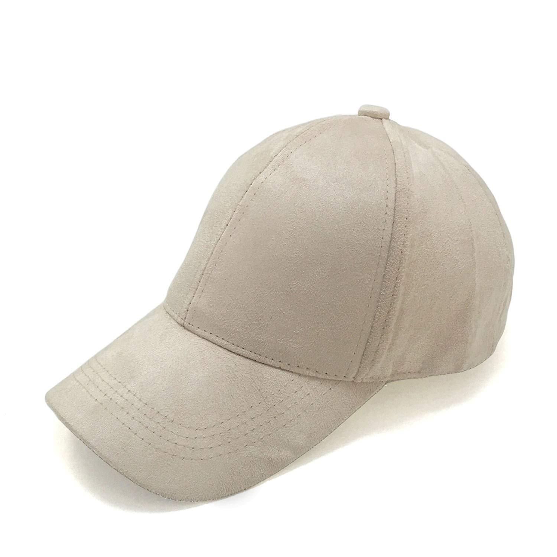 Wilbur Gold New Suede Baseball Cap Mens Casquette Bone Cap Fashion Cap Hip Hop Flat Hat Women Gorras