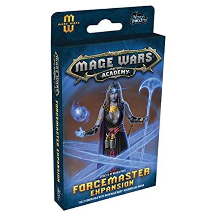 Mage Wars Academy Forcemaster Expansion Strategy Board Game Arcane Wonders CZE02103