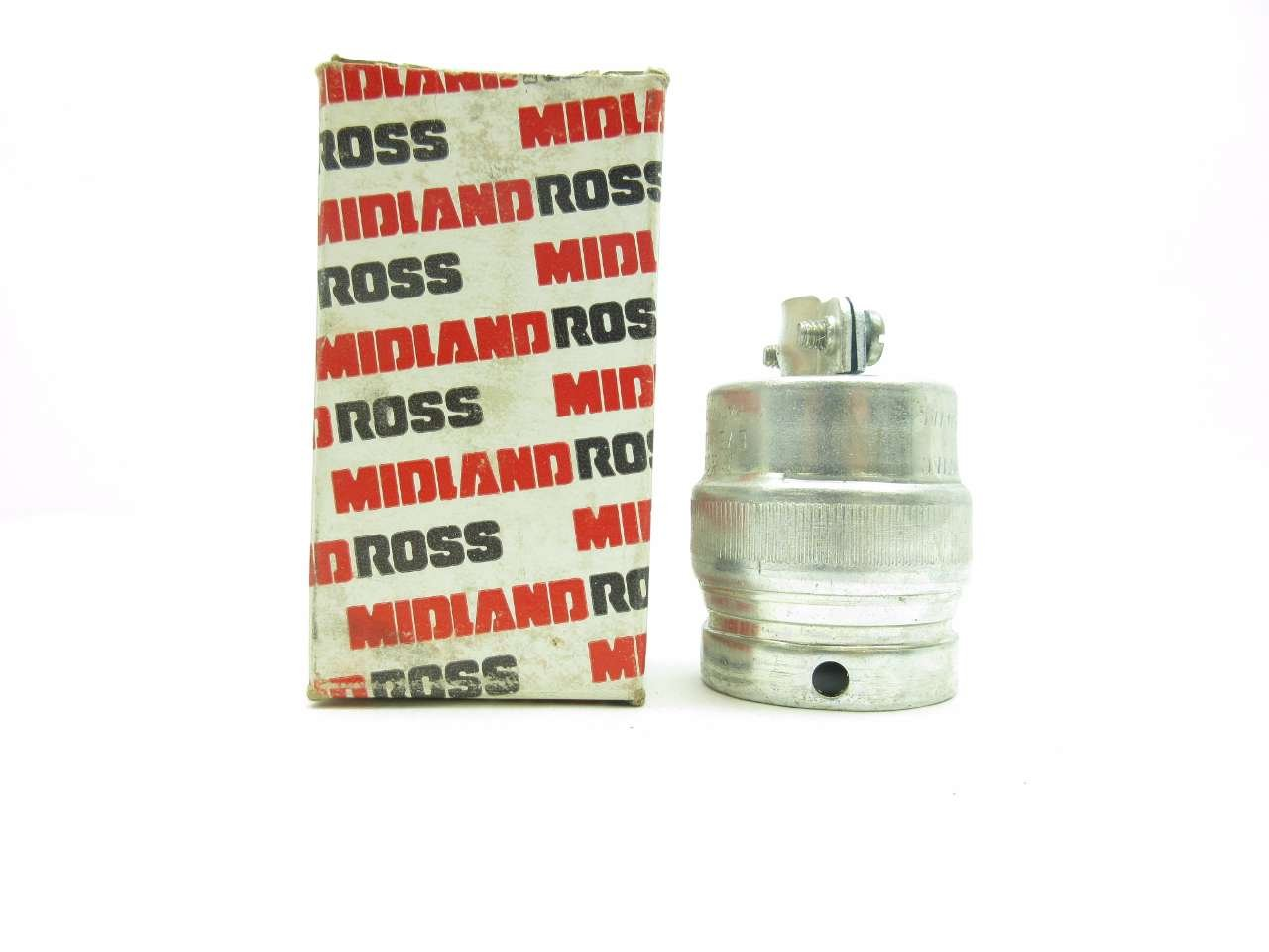 Russellstoll 8023 Ever-lok 600v-ac 10a Amp Receptacle