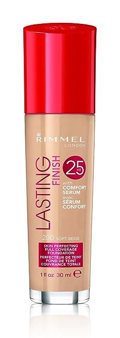 Rimmel Lasting Finish 25 Hour Foundation with Comfort Serum - Soft Beige