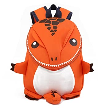 7a8d1c8a224b Coavas Kids Gift Toddler Backpacks Children Backpack - Cute Lifelike  Dinosaur Orange(10.6 9.1 3.7 inch) - Christmas Gift For 3-8 years old   Amazon.ca  Toys ...