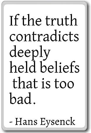 Amazon | If the Truth contradi...