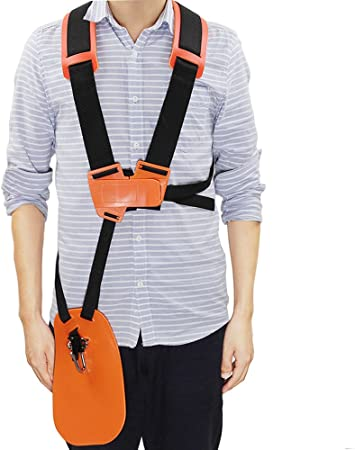 HIPA Trimmer Full Harness for STIHL FS, KM Series - Best Adjustable Harness