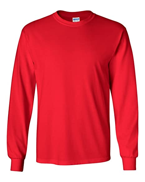 a5c35cdae Gildan Men's G240 Ultra Cotton Long Sleeve T-Shirt | Amazon.com