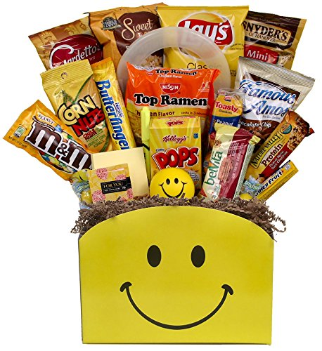 Little Box of Sunshine College Gift Basket - Sunshine Box