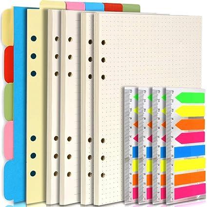 Teenitor - Accesorios recargables para cuaderno A5, 2 ...