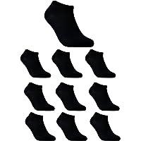 TAIPOVE 10 Paia di Calzini Sportivi Uomo Calze Donna Calze Sportive Uomo Donne Corti in Cotone EU 37 38 39 40 41 42 43 44 45 46 47 48