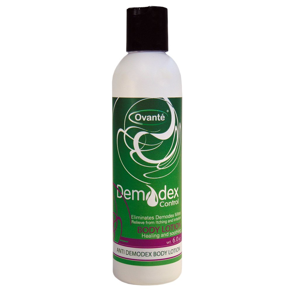 Ovante Anti Demodicosis Body Lotion for Care and Management of Demodex Prone Skin – 6.0 OZ
