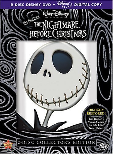 The Nightmare Before Christmas (Two-Disc Collector's Edition) by WALT DISNEY STUDIOS HOME ENTERTAINMENT by Henry Selick Henry Selick Nightmare Before Christmas