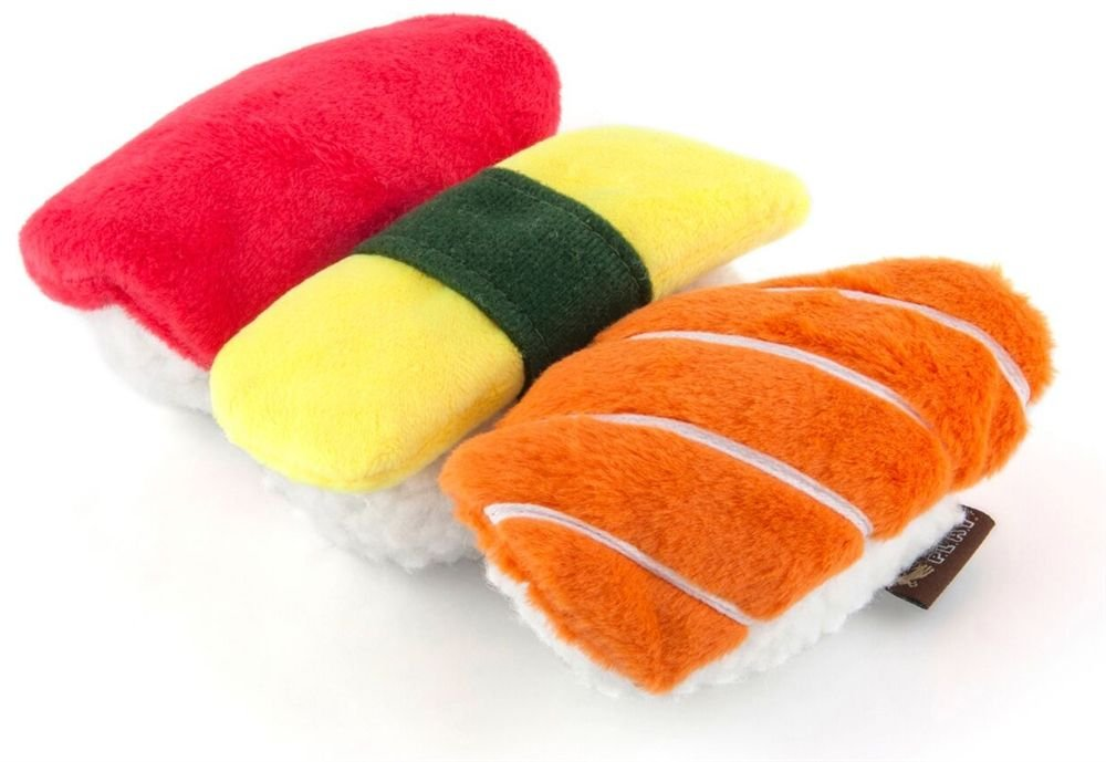 P.L.A.Y - International Classic Sushi Dog Toy delicate