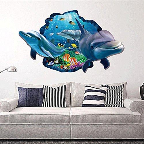 Mkxiaowei 3D stereo pegatinas habitacin dormitorio living comedor decoracin decoracin del hogar etiqueta de la pared