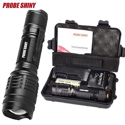ShenPr Led Flashlight Set, Clearance X800 Shadowhawk 6000lm