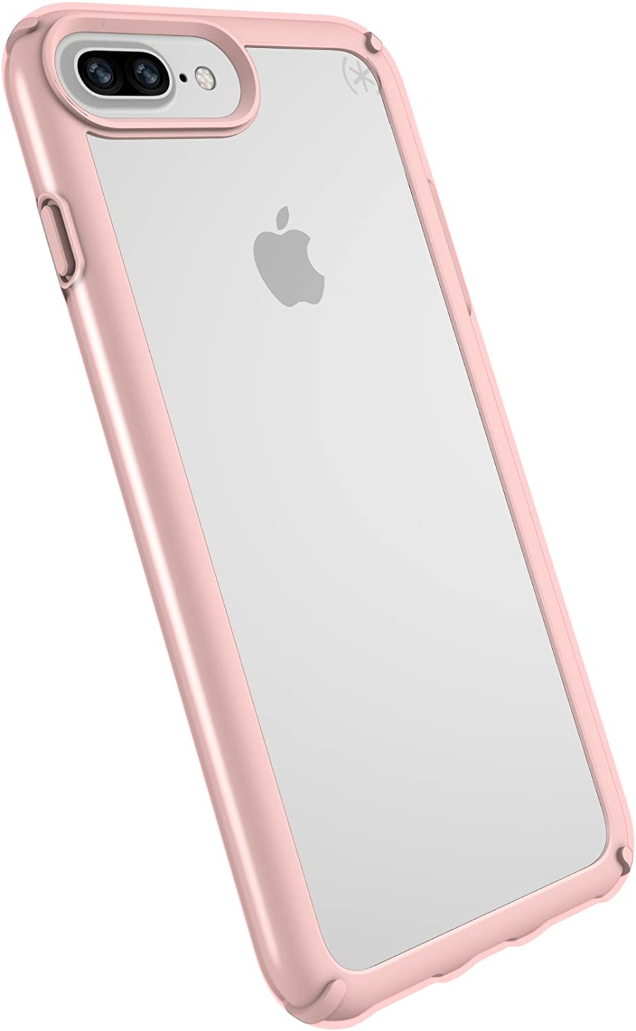 Speck Products Presidio Show Cell Phone Case for iPhone 8 Plus - Clear/Rose Gold