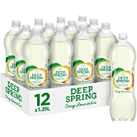 Deep Spring Sparkling Mineral Water Orange, Lemon & Lime, 12 x 1.25 l