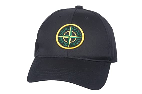 fc913dd802d7c Image Unavailable. Image not available for. Color  Stone Island Soft Cotton  Navi Black Green Compass ...