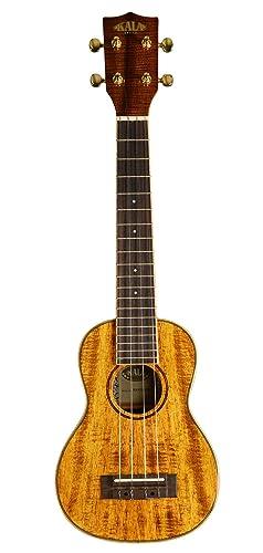 Kala KA-KSLNG Hawaiian Koa Long Neck Soprano Ukulele