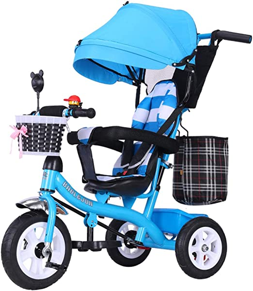 GIFT Pedal Infantil Bicicleta Triciclo Primera Bicicleta Ajustable ...