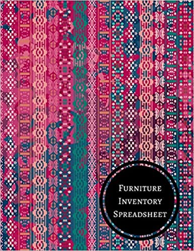 furniture inventory spreadsheet journals for all 9781521331101