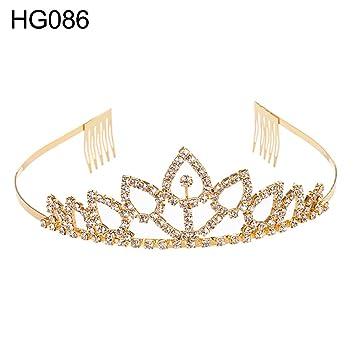 NEW Wedding Bridal Princess Rhinestone Tiara Crown Headband Hair Accessories