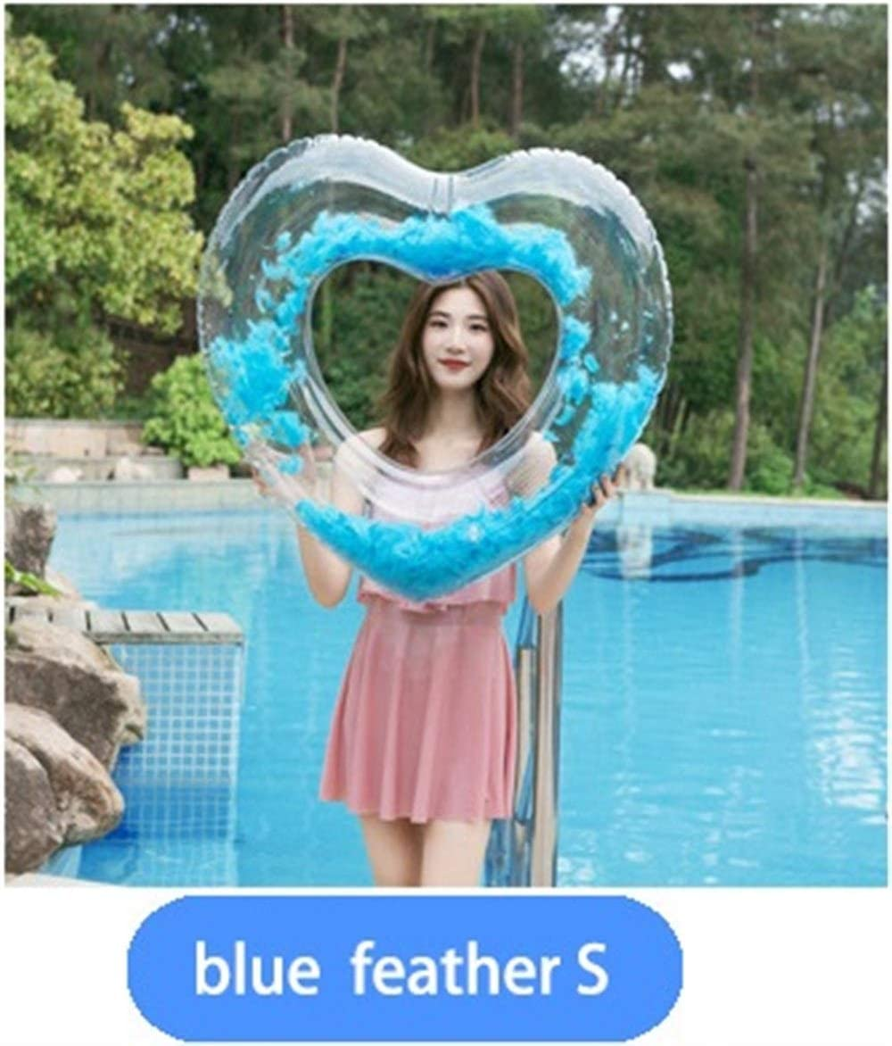 90cm, Pink JCT Heart Swimming Rings Inflatable Pool Floats Love Water Swim Ring Summer Beach Pool Party Toys for Adults Kids Girls