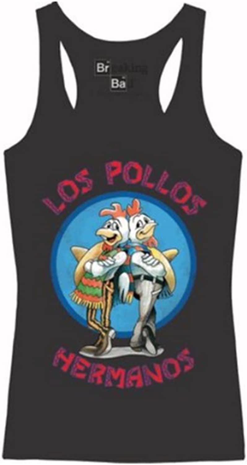 Breaking Bad Los Pollos Hermanos Camiseta de tirantes: Amazon.es: Ropa y accesorios