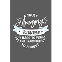 Volunteer Gift: 6x9 Lined Notebook, Funny and Original Appreciation Gag Gifts for Volunteers, Cool, Awesome and Cute…