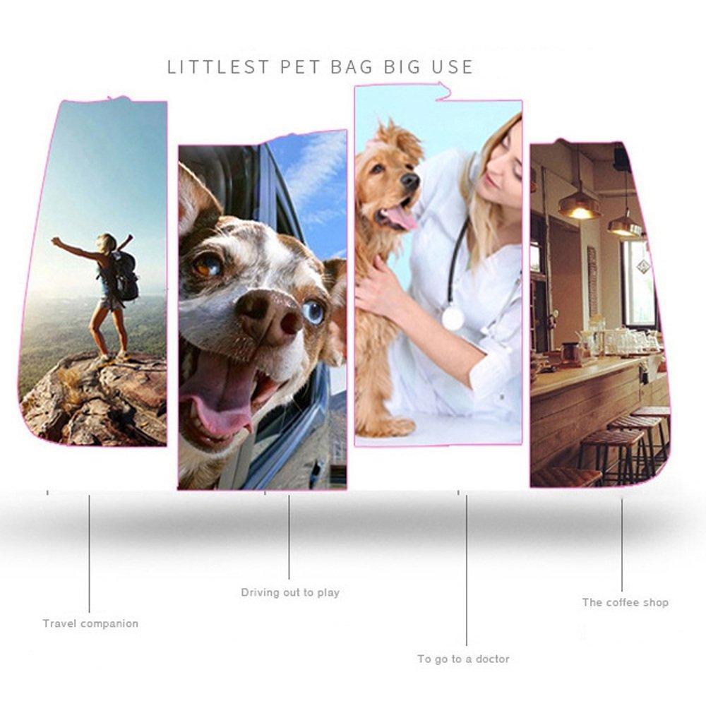 Zhou Yunshan Borsa Oxford Teddy Teddy Teddy Bear Bag per Cani da Viaggio. Portatile 1b50d2