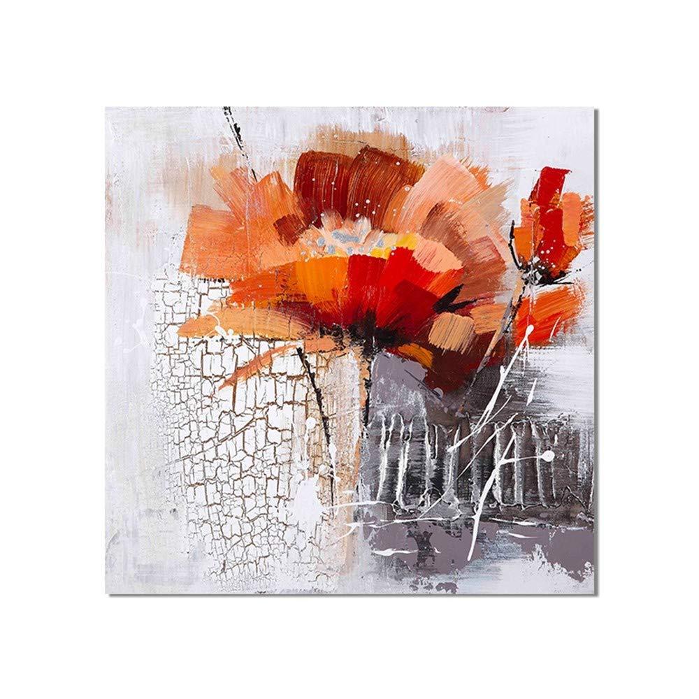 WHUI pintura al óleo Dibujado Dibujado óleo a Mano Pintura al óleo Abstracta Flor en la Lona en el Dormitorio decoración para el hogar Sala de Arte Pared sin Marco 0f05a3