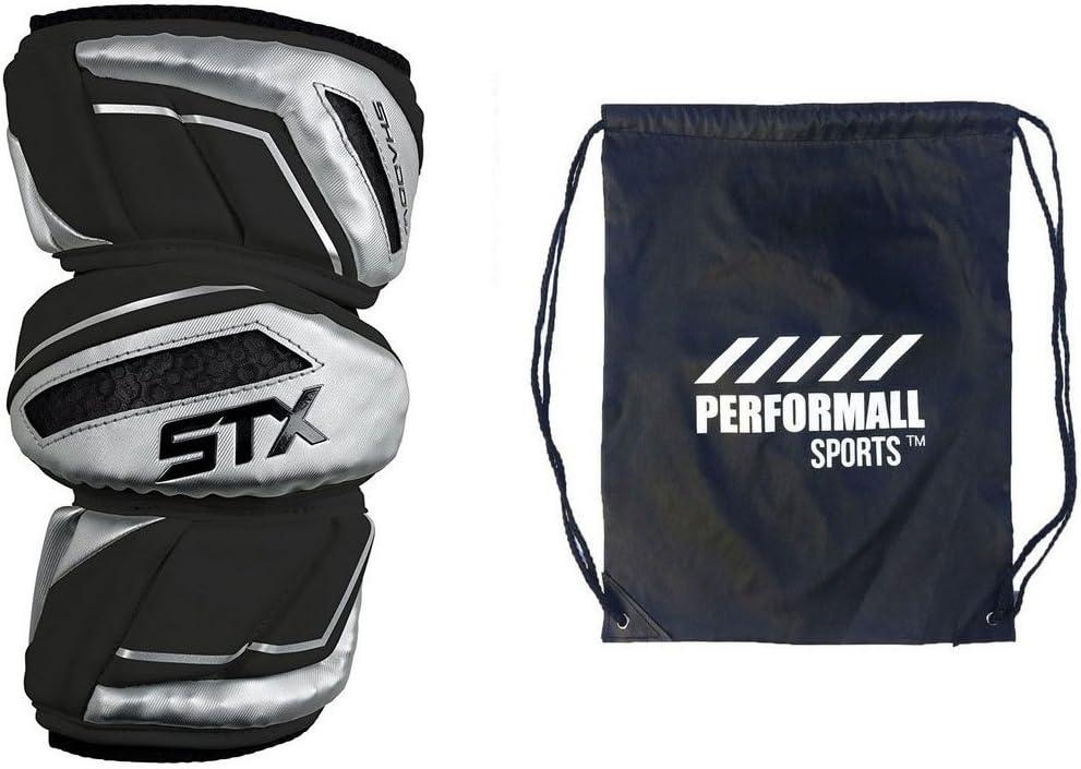 STXシャドウラクロスアームパッドとひも1 performallスポーツバッグ ブラック Large