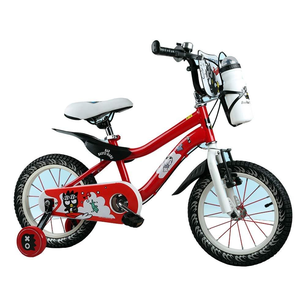 el mejor servicio post-venta rojo 12in Axdwfd Infantiles Bicicletas Bicicleta Bicicleta Bicicleta for niños con Rueda de Entrenamiento, 2-8 años de Edad, 12 14 16 Pulgadas, niños y niñas, Bicicletas, Cochecito for niños  venderse como panqueques