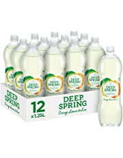 Deep Spring Sparkling Mineral Water Orange, Lemon & Lime, 12 x 1.25 l