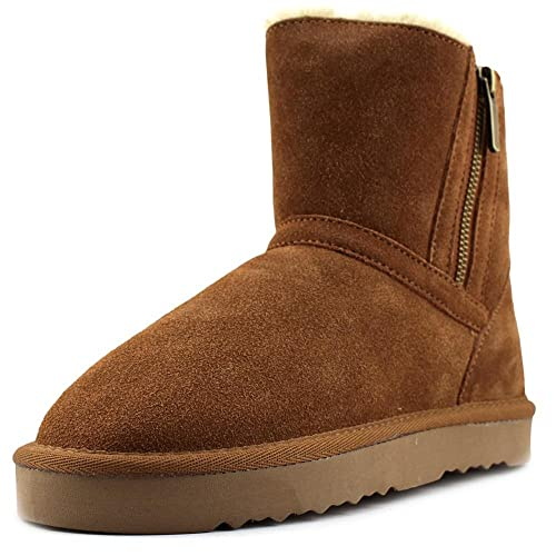 Womens Ciley Suede Closed Toe Ankle Fashion Boots